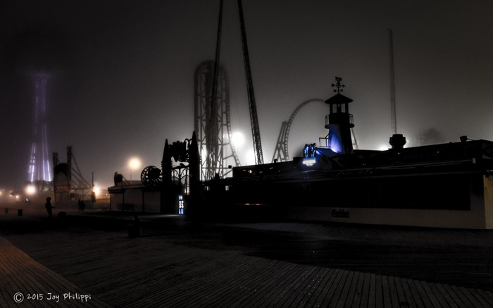 Coney Island Fog